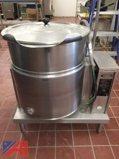 Cleveland Electric Stainless Steel Soup Kettle-Tilting