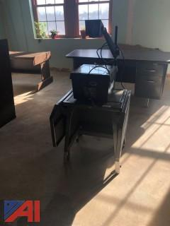 Overhead Projector and Table