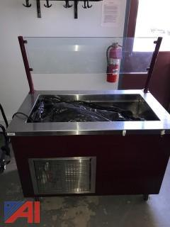 Randell Mobile Cold Pan Counter