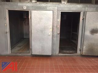 8 x 12 Walk in Cooler and 5 x 12 Walk in Freezer