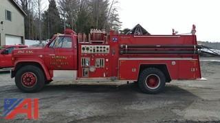 1984 GMC Sierra 7000 FMC Roughneck Fire Truck