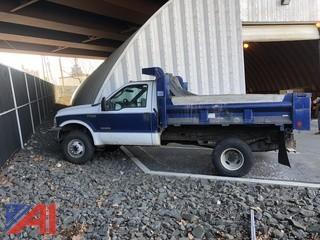 2004 Ford F350 XL Super Duty Dump Truck