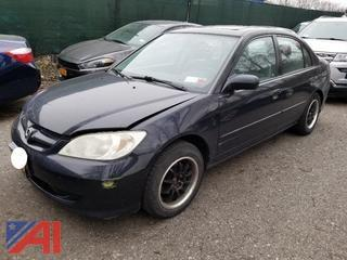2004 Honda Civic 4 Door
