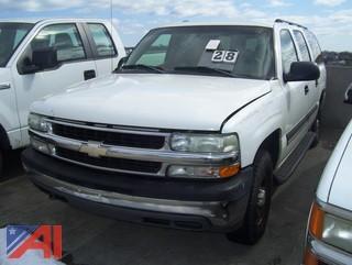 2004 Chevy Suburban SUV