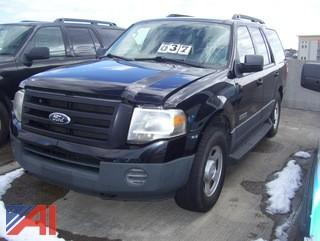 2007 Ford Expedition SUV/Emergency Vehicle