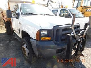#140 2007 Ford F450 Pickup Truck with Dump Body