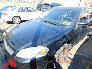 #5000 2008 Chevy Impala 4 Door