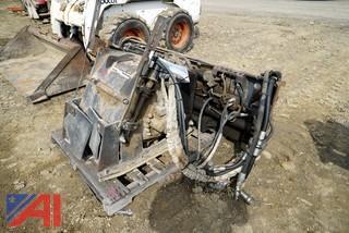 1996 Bobcat Skid Steer Hydraulic Asphalt Cold Planer Attachment