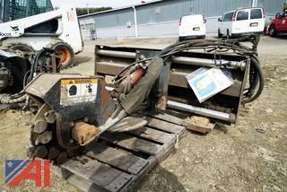 Melroe Bobcat SG50 Hydraulic Stump Grinder Attachment