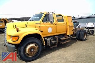 1998 Ford F800 4 Door Cab & Chassis