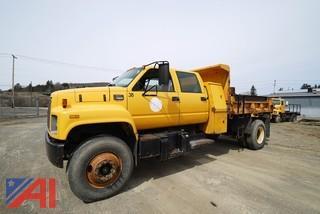 1999 GMC C7500 4 Door Dump Truck
