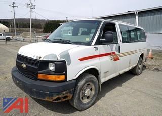 2003 Chevy Express 2500 Passenger Van