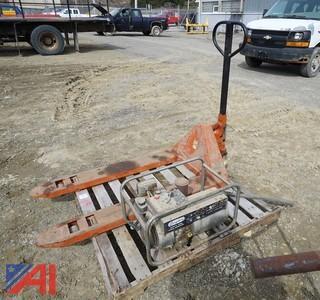 Pallet Truck & Generator