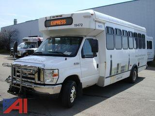 2011 Ford E450 Wheelchair Bus with Bike Rack