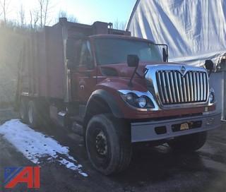 2009 Internaitonal 7600 SBA Packer/Garbage Truck