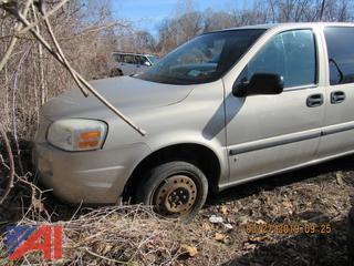 2007 Chevy Uplander LS Van (Parts Only)