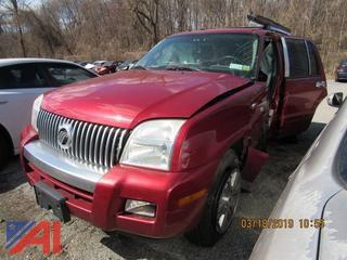 2007 Mercury Mountaineer SUV (Parts Only)