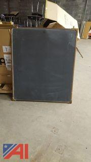 Brass Framed Chalkboards