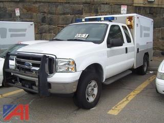 2005 Ford F350 Super Duty Prisoner Transport Vehicle