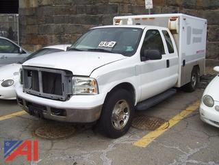 2007 Ford F350 Super Duty Prisoner Transport Vehicle