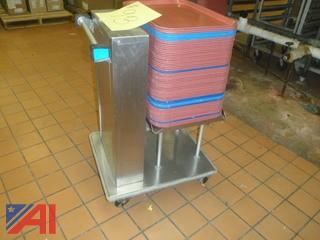 Lakeside Tray Cart with Trays