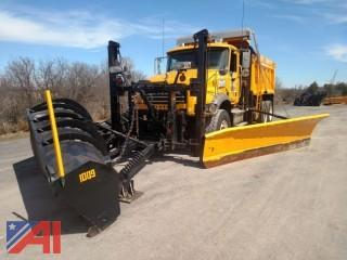 9c17ed55ca 2009 Mack GU713 Dump Truck with Sander and Plows · auction options