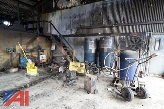 Assorted Salvage Shop Equipment