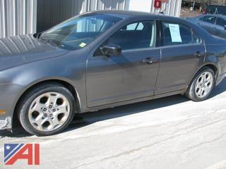 2011 Ford Fusion 4 Door