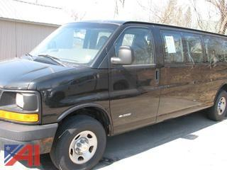 2003 Chevy Express 3500 Full Size Van
