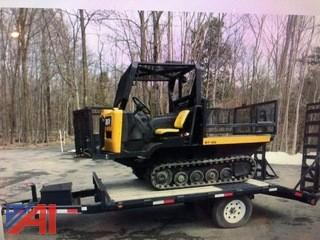 2010 Terex ACV-ST50 Track Vehicle with 2018 Trailer