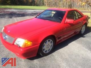 1991 Mercedes Benz SI50 Convertible 2 Door