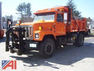 1997 International 2554 Dump Truck with Plow