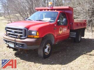 2000 Ford F350 Super Duty Dump Truck