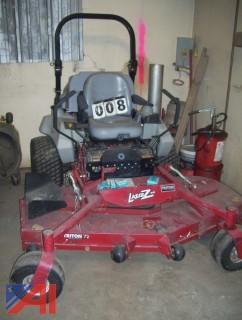 """72"""" Zero Turn Exmark Lazer ZXS Lawn Mower"""
