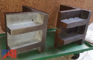 Large Iron Angle Plates