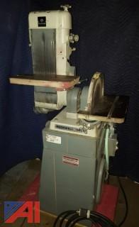 "Rockwell Delta Commercial Type Combination 12"" Disc/6"" Belt Sander"