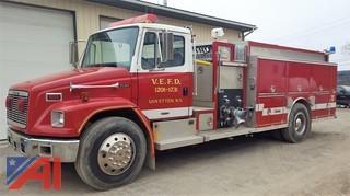 1994 Freightliner Central FL80 Fire Truck