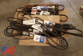 Assorted Automotive Belts