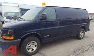 2005 Chevy Express 2500 Utility Van