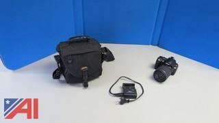 Nikon D60 Camera and Case
