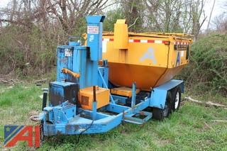 Spaulding Hot Box asphalt patch machine