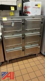 6 Slot Warmer Oven