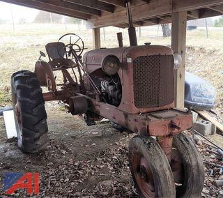 1940's Allis Chalmers WD40 Tractor