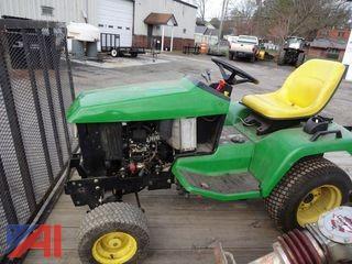 1998 John Deere 425 Lawn Tractor