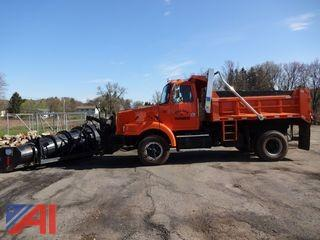 2000 Volvo WG42 Dump Truck with Plow and Sander