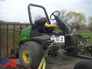 """John Deere 3235C 100"""" Reel Mower"""