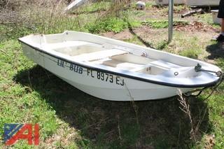 Boston Whaler Row Boat & Misc. Row Boat