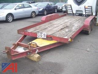 16' Equipment Trailer with Ramps