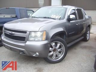 2007 Chevy Avalanche Pickup Truck
