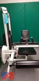 Life Fitness Leg Curl Machine